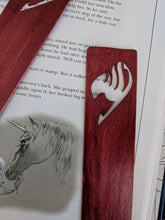 Load image into Gallery viewer, Fairy Tail Scrollsawn Wooden Bookmark