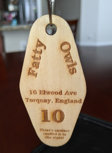 Fawlty Towers Key Fob