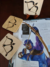 Load image into Gallery viewer, Avengers - Hawkeye Hand Cut Wooden Deskoration