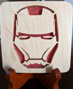 Avengers - Ironman Hand Cut Wooden Deskoration