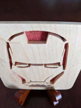 Load image into Gallery viewer, Avengers - Ironman Hand Cut Wooden Deskoration
