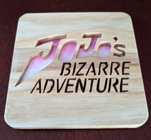 Load image into Gallery viewer, JoJo's Bizarre Adventure! Hand Cut Wooden Deskoration
