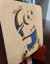 Load image into Gallery viewer, Minions Bob Hand Cut Wooden Deskoration