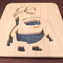 Load image into Gallery viewer, Minions Stuart Hand Cut Wooden Deskoration