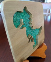Load image into Gallery viewer, Mario - Yoshi! Hand Cut Wooden Deskoration