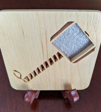 Load image into Gallery viewer, Avengers - Thor Hand Cut Wooden Deskoration