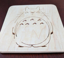 Load image into Gallery viewer, My Neighbor Totoro Hand Cut Wooden Deskoration