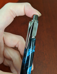 Vertex Hand Turned Click Pens/Pencil