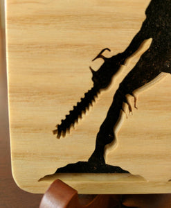 Army of Darkness Ash! Hand Cut Wooden Deskoration