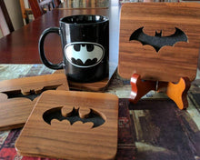 Load image into Gallery viewer, Batman Classic TV Hand Cut Wooden Deskoration