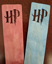 Load image into Gallery viewer, Harry Potter Hand Cut Wooden Bookmark