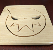 Load image into Gallery viewer, Soul Eater Hand Cut Wooden Deskoration