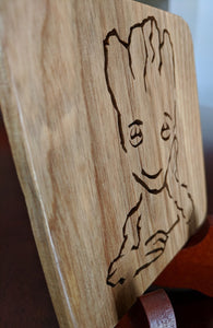 I Am GROOT! Hand Cut Wooden Deskorations