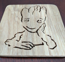 Load image into Gallery viewer, I Am GROOT! Hand Cut Wooden Deskorations