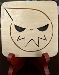 Soul Eater Hand Cut Wooden Deskoration