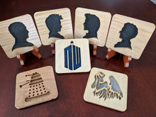 Load image into Gallery viewer, Doctor Who Doctor #12 Hand Cut Wooden Deskoration