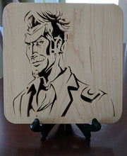 Load image into Gallery viewer, Borderlands Gun Manufacturers: Hyperion! Hand Cut Wooden Deskoration