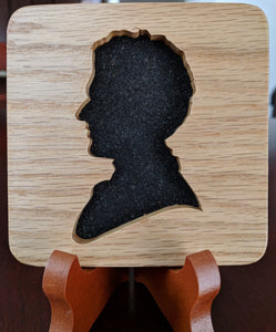 Doctor Who Doctor #12 Hand Cut Wooden Deskoration