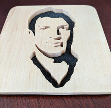 Load image into Gallery viewer, Firefly Malcolm Reynolds Hand Cut Wooden Deskoration