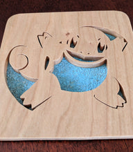 Load image into Gallery viewer, Pokemon: Squirtle! Hand Cut Wooden Deskoration