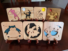 Load image into Gallery viewer, Pokemon: Umbreon! Hand Cut Wooden Deskoration