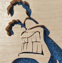 Load image into Gallery viewer, The Tick Hand Cut Wooden Deskoration