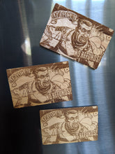 Load image into Gallery viewer, Borderlands Marcus Laser Engraved/Cut Magnet