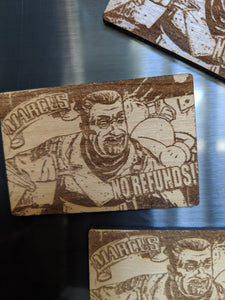 Borderlands Marcus Laser Engraved/Cut Magnet