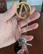 Load image into Gallery viewer, Borderlands Vault Hunter Key Ring