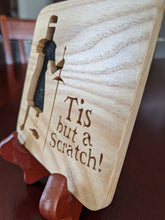 Load image into Gallery viewer, Monty Python & The Holy Grail Hand Cut Wooden Deskoration
