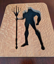 Load image into Gallery viewer, Aquaman Scrollsawn Plaque
