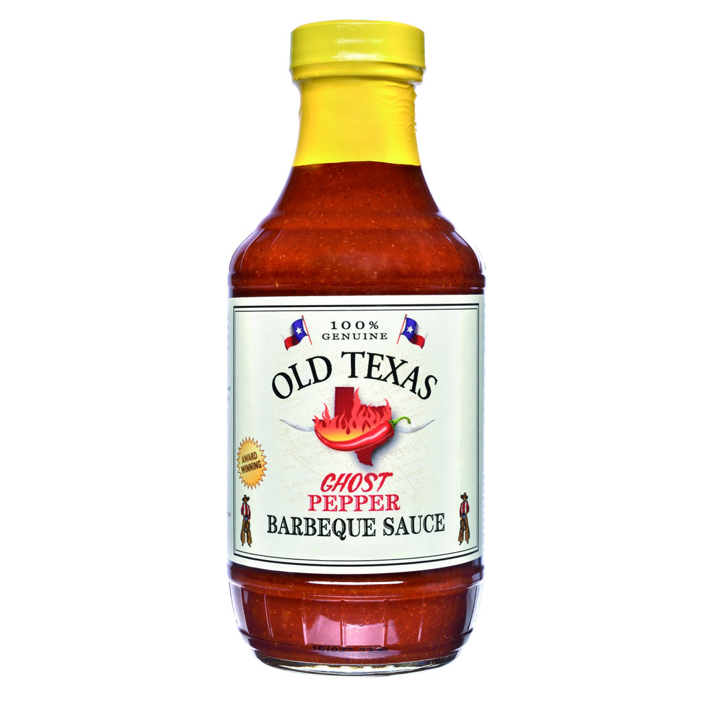 Old Texas Ghost Pepper BBQ Sauce