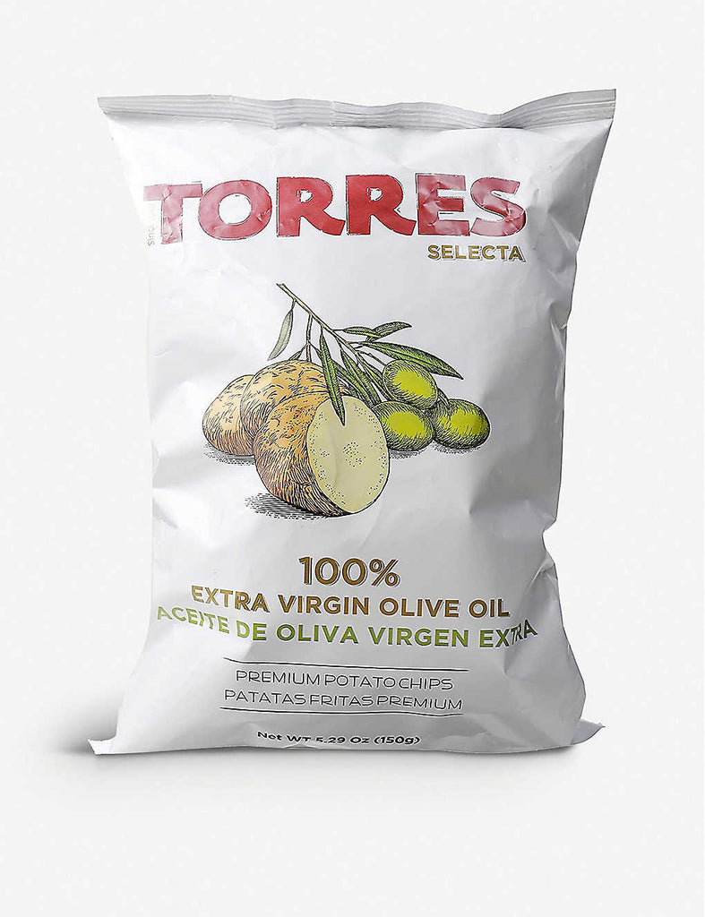Torres Crisps 100% Extra Virgin Oil 150 gr