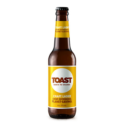 Toast Ale Craft  Lager 5.0% 330 ml