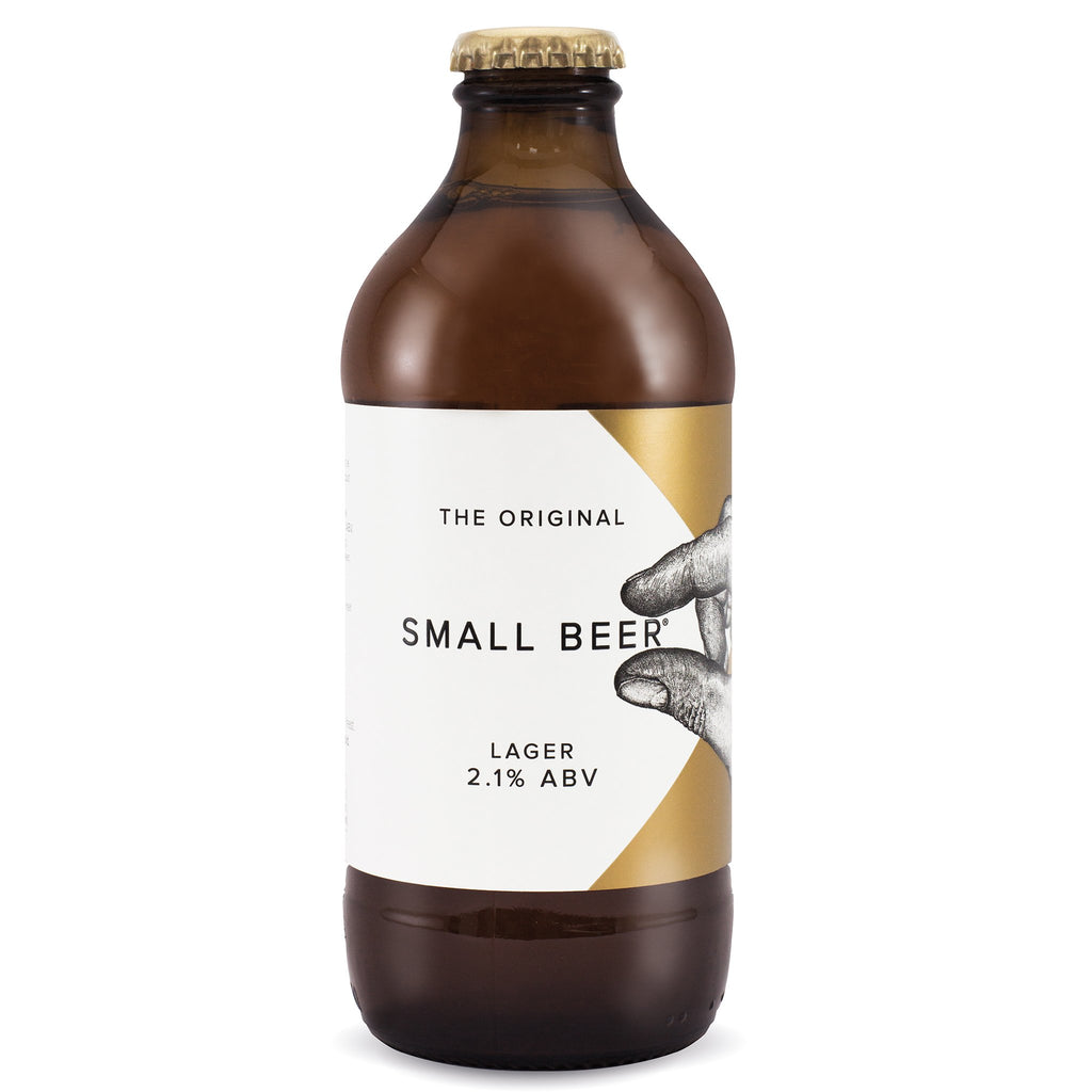 Small Beer Brew Co Original Lager 2,1% 350 ml