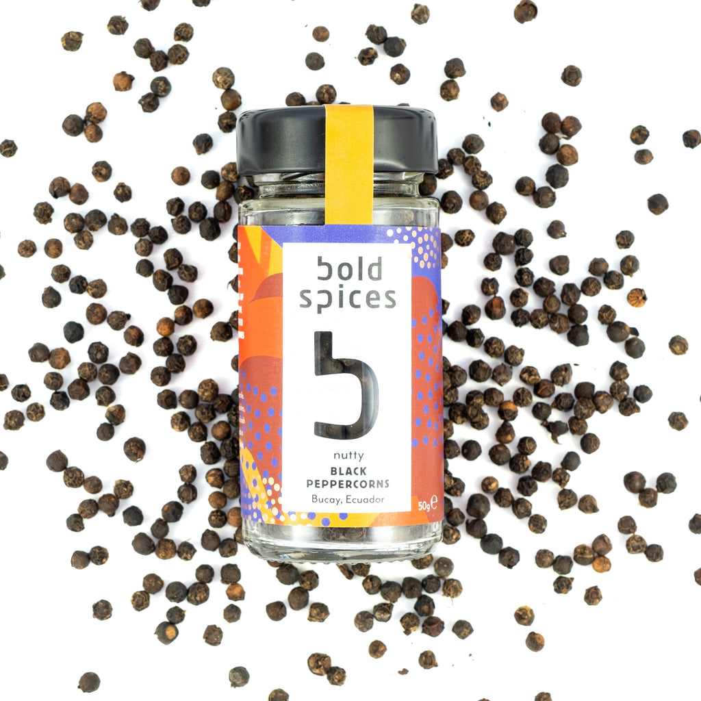 Bold Spices Ecuadorian Bucay black pepper