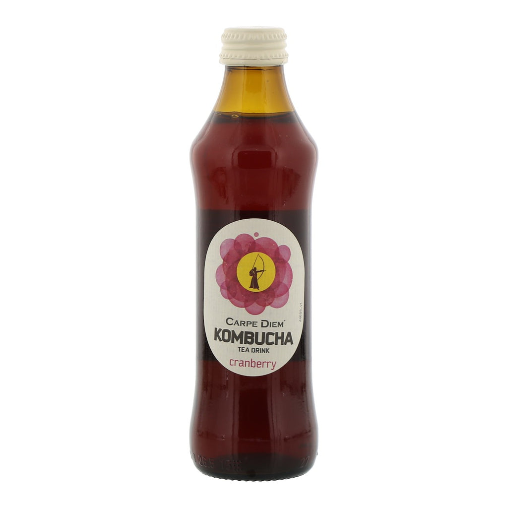 Carpe Diem Kombucha Cranberry  25 cl
