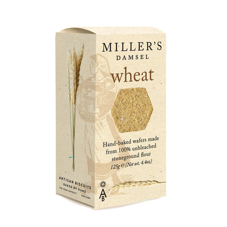 Miller's Damsel Wheat Wafers 125g