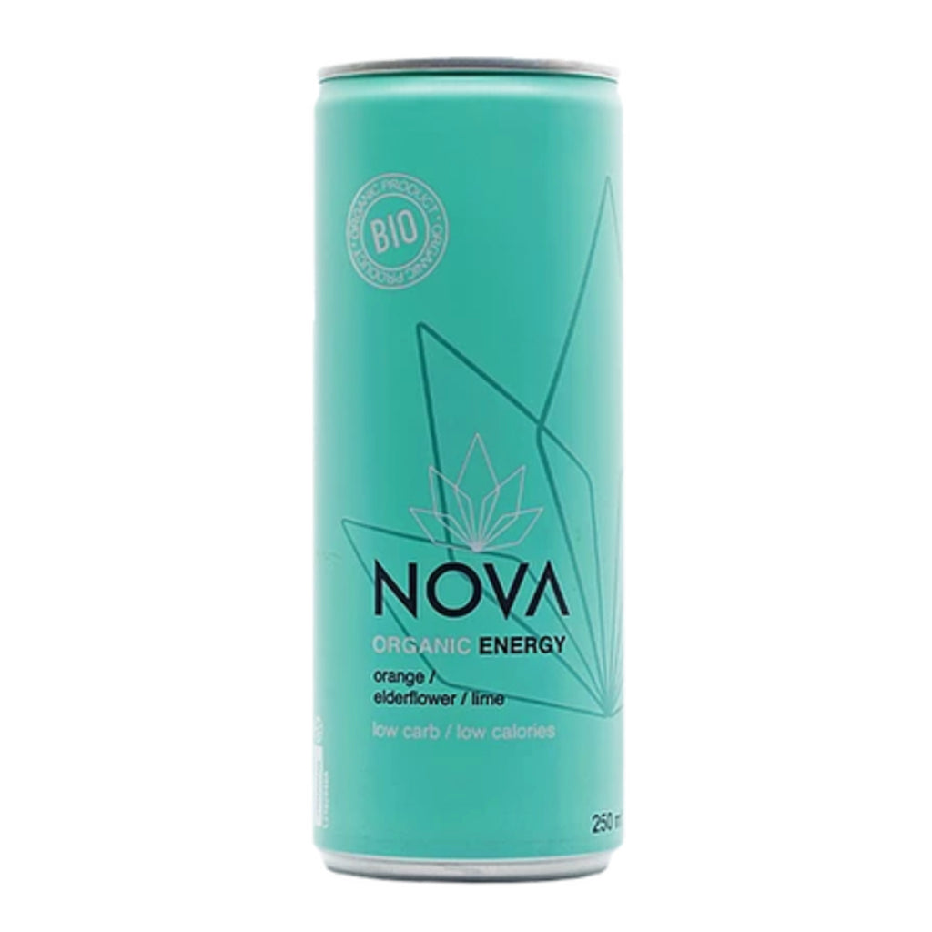 Nova Organic Energy - Orange, Elderflower & Lime
