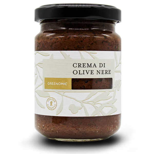 GREENOMIC CREMA Di Olive Nero (Black olive cream)
