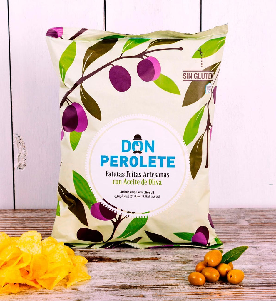 Don Perolete Artisan Olive Oil Crisps 150g