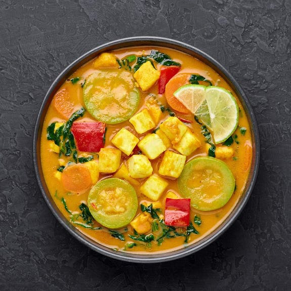 J KINSKI Organic Thai curry base with mango and coconut