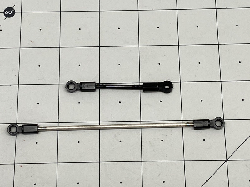 Steering Rods with Ends