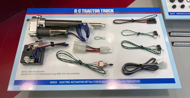 Electric Actuator Set for 1/14 Scale R/C Tow Truck
