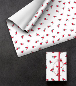 "Geschenkpapier Red and White ""Booble"" - ZOEWIE"