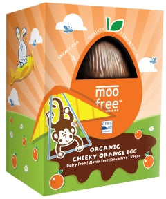 Moo Free påskeæg cheeky orange