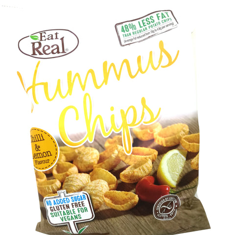 Eat Real hummuschips med chili og citron