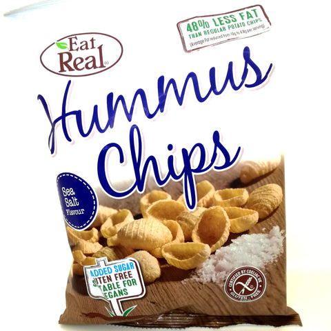 Eat Real Hummus Chips med havsalt