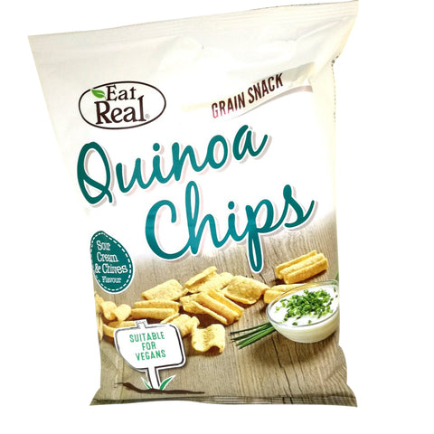 Eat Real Quinoa chips med sour cream