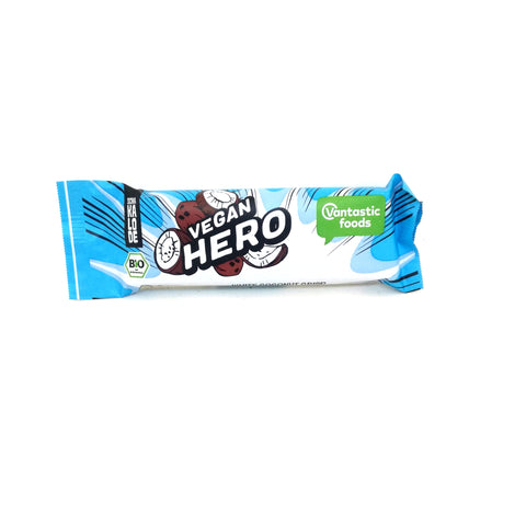 Vegan Hero white coconut crisp
